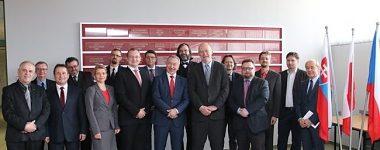 Návšteva predstaviteľov Univerzity Mateja Bela v Banskej Bystrici v Katoviciach