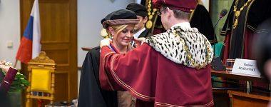 Čestný doktorát pre prvú dámu Chorvátskej republiky