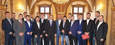 Primátor mesta prijal UMB Hockey Team