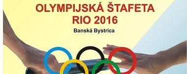 Olympijská štafeta k olympijskému RIU 2016