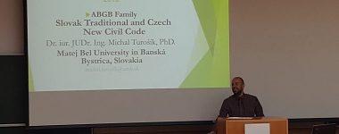 Právnici UMB na konferencii v Salzburgu