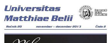 Spravodajca UMB 2/2013 (november-december)