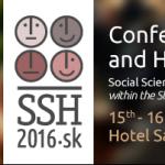 Spoločenské a humanitné vedy - Nová agenda pre európske výzvy