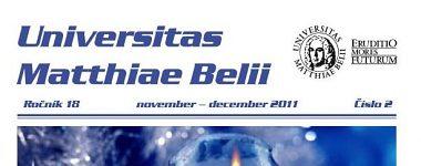 Spravodajca UMB 2/2011 (november-december)