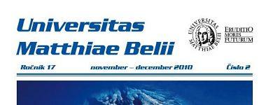 Spravodajca UMB 2/2010 (november-december)