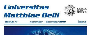 Spravodajca UMB 2/2009 (november-december)