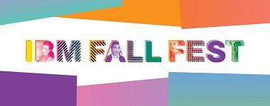 Aktuálny oznam − IBM Fall Festival