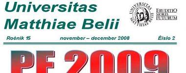 Spravodajca UMB 2/2008 (november-december)