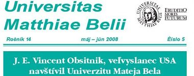 Spravodajca UMB 5/2008 (máj-jún)
