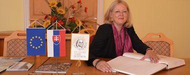 Návšteva Dr. Mechtild Rössler, riaditeľky Centra svetového dedičstva UNESCO na UMB
