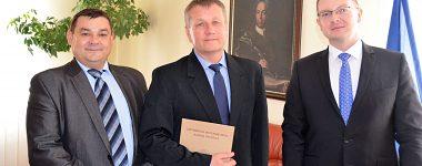 Vymenovanie hosťujúceho profesora rektorom UMB