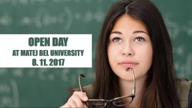 Open Day at Matej Bel University in Banská Bystrica