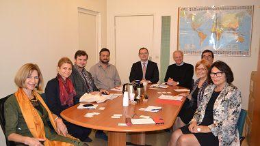 MBU delegation at University Paris 13