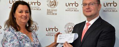 IBM udelila Univerzite Mateja Bela v Banskej Bystrici grant na vedu  a výskum