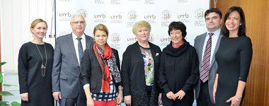 Návšteva delegácie z Bieloruskej štátnej univerzity