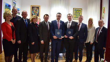 Návšteva na Univerzite v Mostare