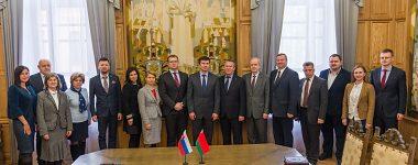 Delegácia UMB na návšteve v Minsku