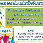 Oslava Frankofónie so stredoškolákmi na UMB