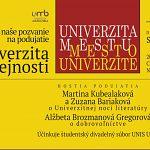 Univerzita k verejnosti
