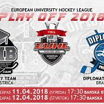 PLAY OFF 2018 UMB HOCKEY TEAM vs DIPLOMATS PRESSBURG