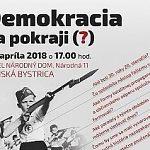 Pozvánka: Demokracia na pokraji (?)