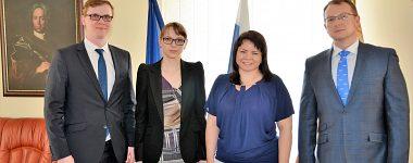 Návšteva z Finančnej univerzity v Moskve