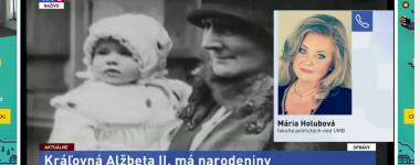 Dr. Mária Holubová LIVE na TA3