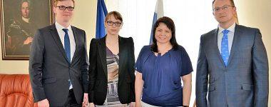 Посещение Финансового Университета в Москве