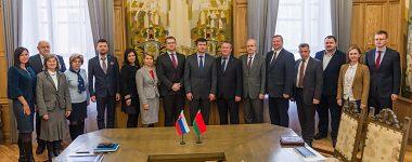 Делегация УМБ посетила Минск