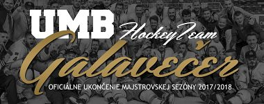 Galavečer UMB Hockey Teamu