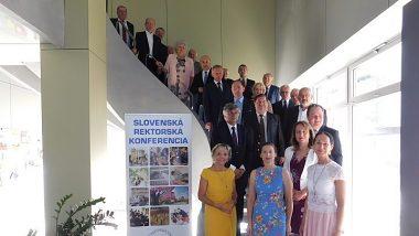 Mimoriadne zasadnutie Slovenskej rektorskej konferencie