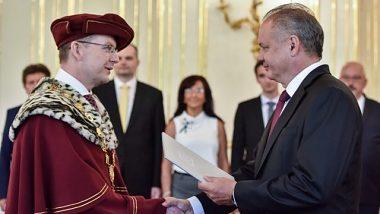 Novovymenovaný rektor UMB doc. Ing. Vladimír Hiadlovský, PhD.
