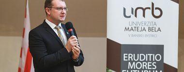 Rozhovor s rektorom UMB