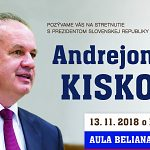 Stretnutie s prezidentom SR Andrejom Kiskom